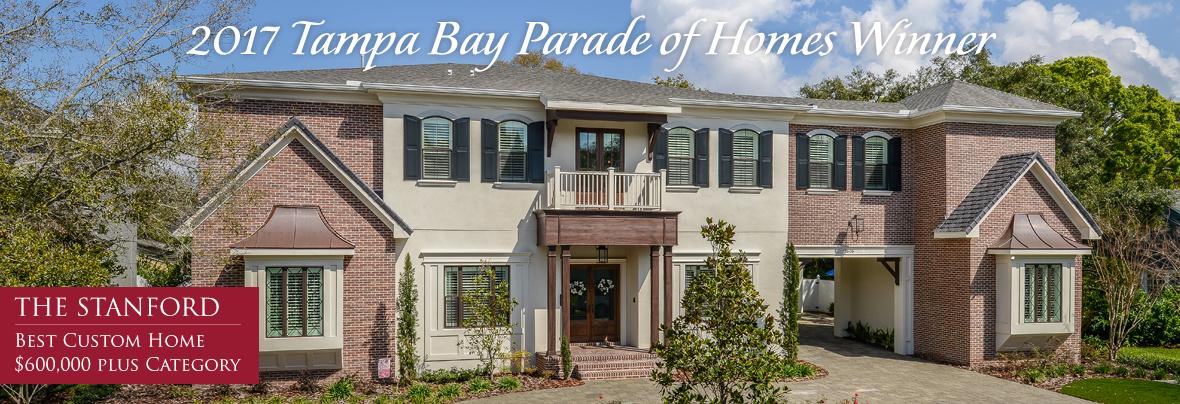 2017 Tampa Bay Parade of Homes Winner