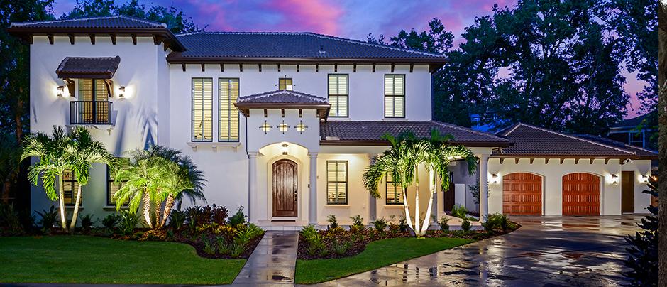 Welcome to Taralon Homes!<br/>Tampa Bay's premier custom and <br/>semi-custom home builder.